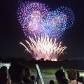 関東圏で指折りの人気 | とりで利根川大花火